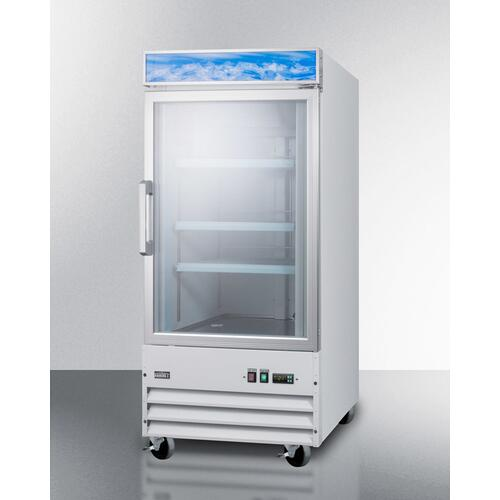 "27"" Wide Upright All-freezer"