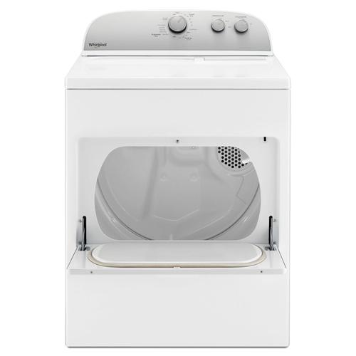 7.0 cu. ft. Top Load Electric Dryer with AutoDry Drying System White