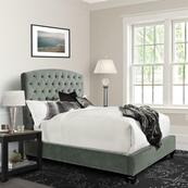 PRISCILLA - DUSK Upholstered Bed Collection