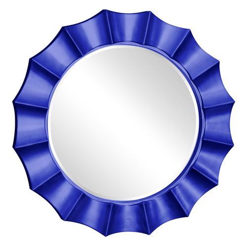 Howard Elliott - Corona Mirror - Glossy Royal Blue