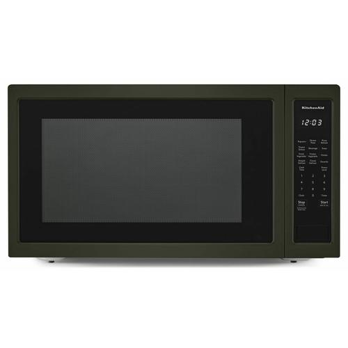 """Gallery - 24"""" Countertop Microwave Oven with PrintShield™ Finish - 1200 Watt - Black Stainless"""
