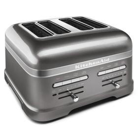 Pro Line® Series 4-Slice Automatic Toaster Medallion Silver