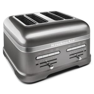 KitchenAidPro Line® Series 4-Slice Automatic Toaster Medallion Silver
