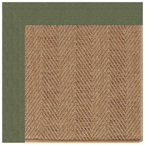 """Capel Rugs - Islamorada-Herringbone Canvas Fern - Rectangle - 24"""" x 36"""""""