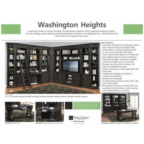 WASHINGTON HEIGHTS Outside Corner Bookcase