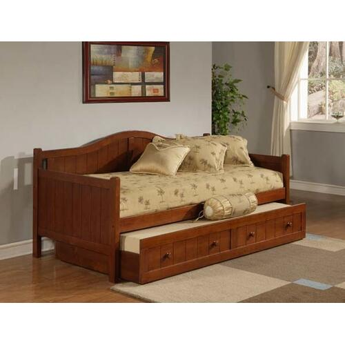 Staci Complete Twin-size Daybed With Trundle, Cherry