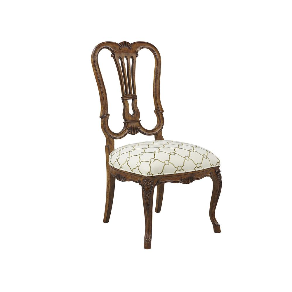 Steamship Splat Back Side Chair