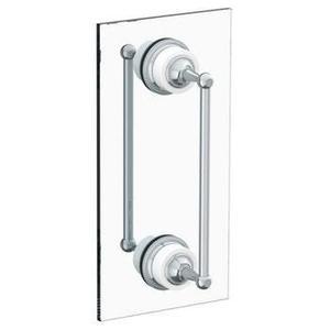 """Venetian 24"""" Double Shower Door Pull/ Glass Mount Towel Bar Product Image"""