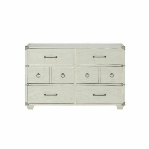 ACME Orchest Dresser - 36140 - Transitional, Industrial - Wood (Poplar/Pine), MDF - Gray
