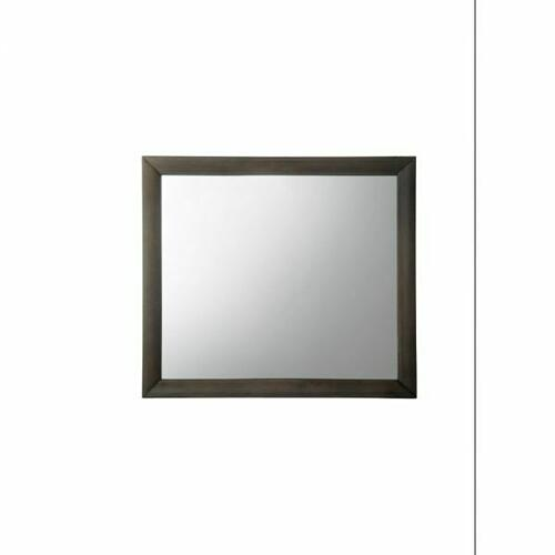 ACME Ireland Mirror - 22705 - Gray Oak