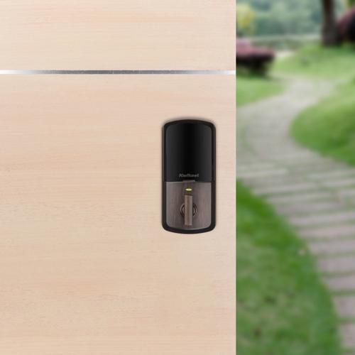 Kwikset - Halo Touchscreen Wi-Fi Enabled Smart Lock - Venetian Bronze