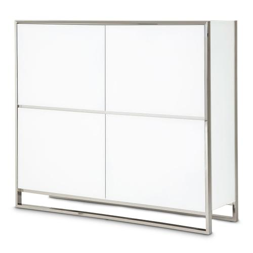 Accent Cabinet - Glossy White