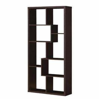 ACME Mileta Bookcase - 92089 - Cappuccino