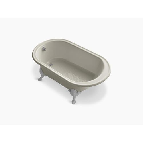 "White 66"" X 36"" Freestanding Oval Bath"