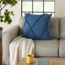 """See Details - Life Styles Sh018 Blue 24"""" X 24"""" Throw Pillow"""