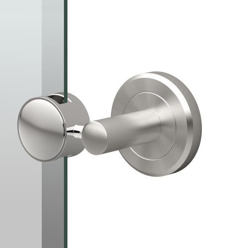 Latitude2 Oval Mirror in Satin Nickel