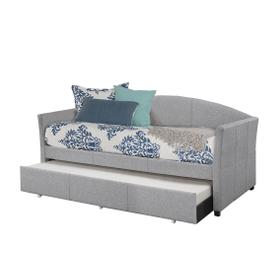 Westchester Daybed W/ Trundle - Smoke Gray Fabric