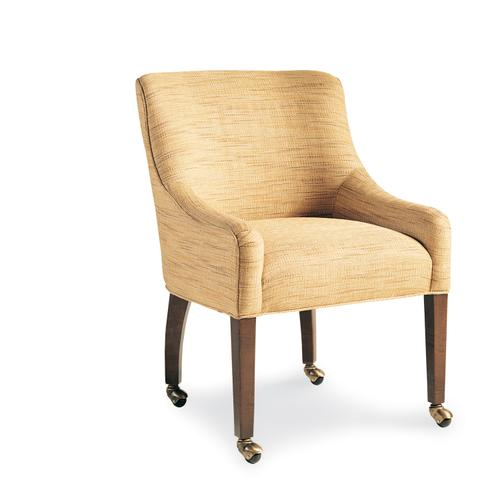 991-C RITZ EX-WOOD CHAIR W/CASTERS