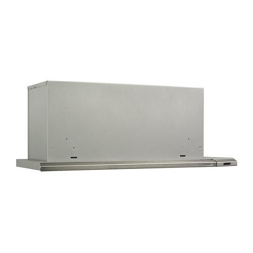"36"" 300 CFM Brushed Aluminum Slide Out Range Hood"