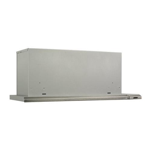 """36"""" 300 CFM Brushed Aluminum Slide Out Range Hood"""