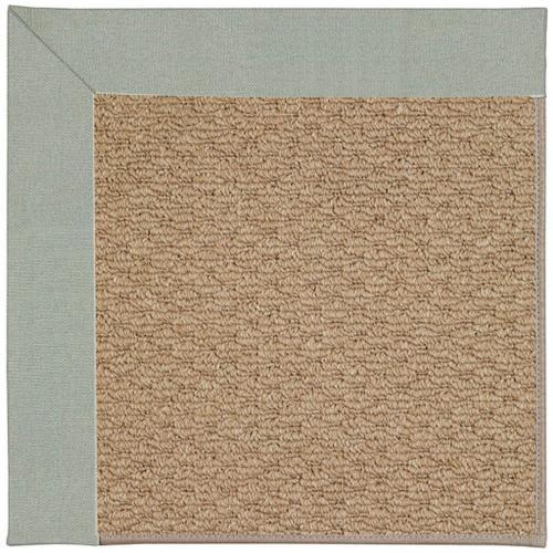 "Creative Concepts-Raffia Canvas Spa Blue - Rectangle - 24"" x 36"""