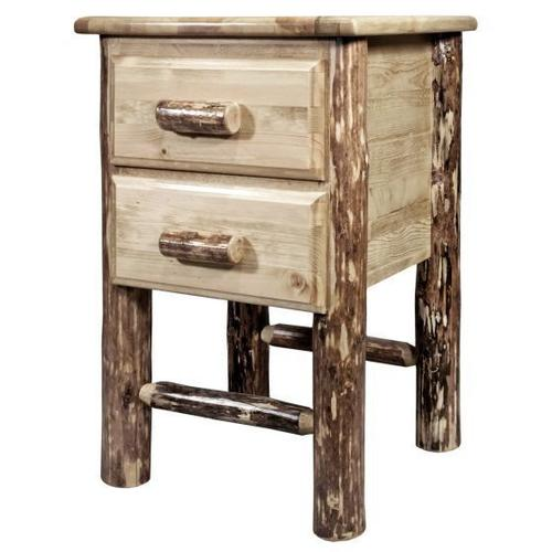 Montana Woodworks - Glacier Country Collection Nightstand with 2 Drawers