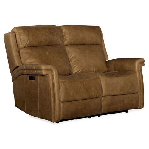 Living Room Poise Power Recliner Loveseat w/ Power Headrest