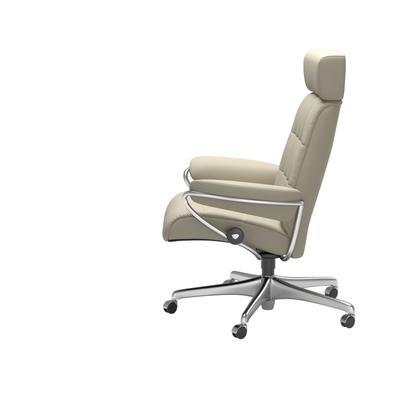 See Details - Stressless® London Home Office Adjustable Headrest