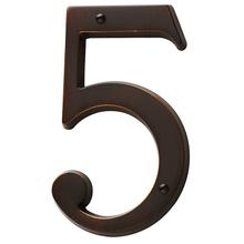 Venetian Bronze House Number - 5