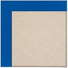 Creative Concepts-White Wicker Canvas Pacific Blue Machine Tufted Rugs