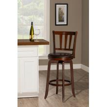 Presque Isle Swivel Bar Height Stool - Cherry
