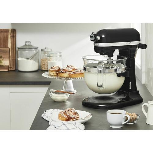 KitchenAid - Professional 6500 Design™ Series 6 Quart Bowl-Lift Stand Mixer - Onyx Black