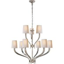 View Product - E. F. Chapman Ruhlmann 9 Light 35 inch Polished Nickel Chandelier Ceiling Light