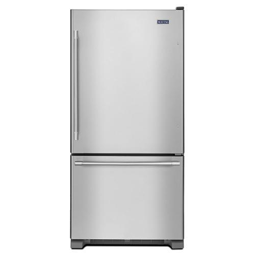 Gallery - 33-Inch Wide Bottom Mount Refrigerator - 22 Cu. Ft.