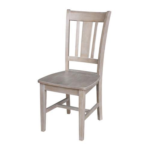 John Thomas Furniture - San Remo Chair in Taupe Gray