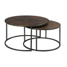Sanford Round Cocktail Table