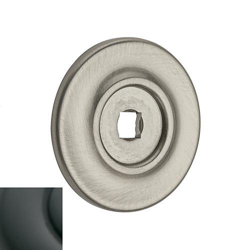 Baldwin - Oil-Rubbed Bronze Knob Back Plate