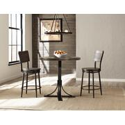 Jennings 3pc Colunter Height Dining With Swivel Stools Product Image