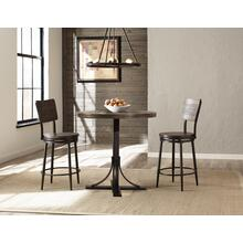 Jennings 3pc Colunter Height Dining With Swivel Stools