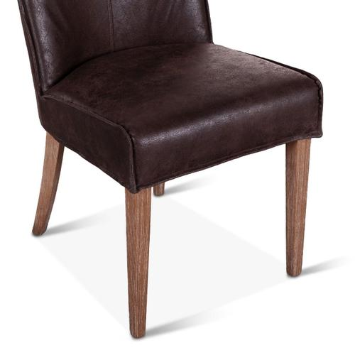 Product Image - Buddy Side Chair Dark Brown Leather