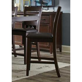 Holbrook Transitional Antique Tobacco Counter-height Chair