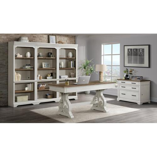 """Intercon Furniture - Drake 76"""" Bunching Bookcase"""