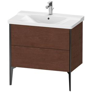 Vanity Unit Floorstanding, American Walnut (real Wood Veneer)
