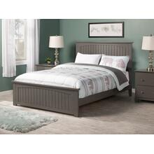 Nantucket Full Bed with Matching Foot Board in Atlantic Grey