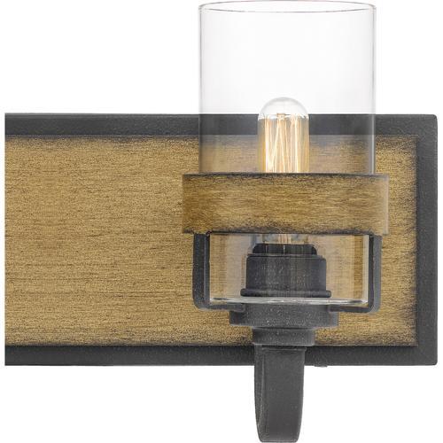 Quoizel - Finch Bath Light in Aged Walnut