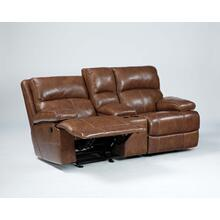 Timber and Tanning Glider REC Loveseat w/Console