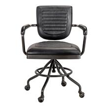 Foster Swivel Desk Chair Black