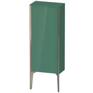 Semi-tall Cabinet Floorstanding, Jade High Gloss (lacquer)