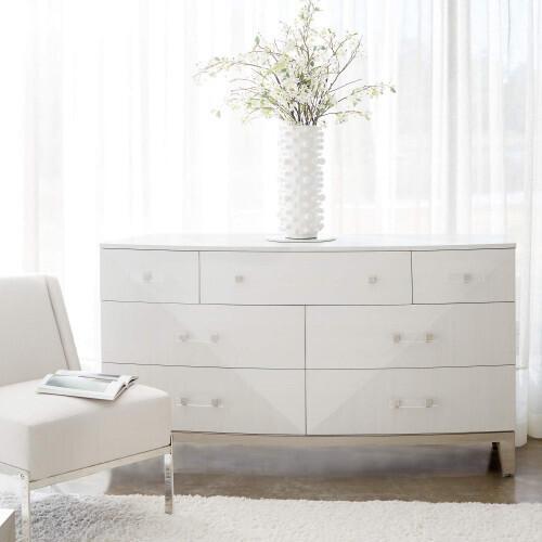 Bernhardt - Axiom Dresser in Linear Gray (381)