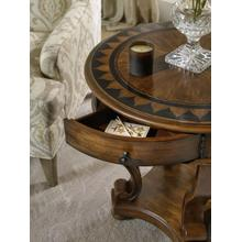 View Product - Archivist Round Accent End Table